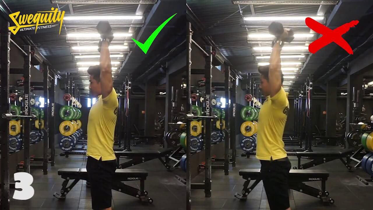 [VA04] Tập vai – Standing Dumbbell Shoulder Press