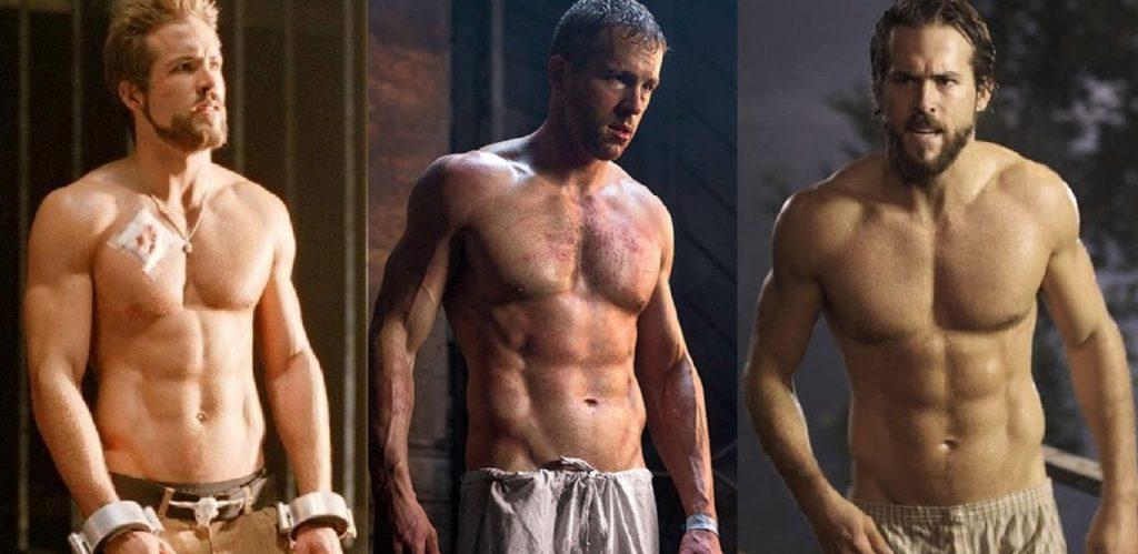 Lịch tập gym cho nam và chế độ dinh dưỡng Ryan Reynolds