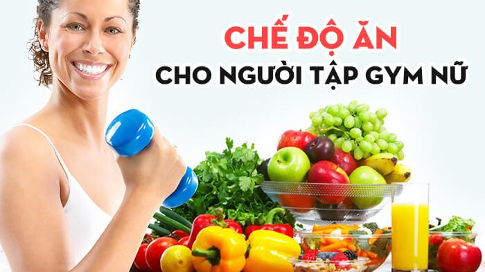 Tham khảo chế độ ăn cho nữ tập gym giảm cân của HLV tại Swequity