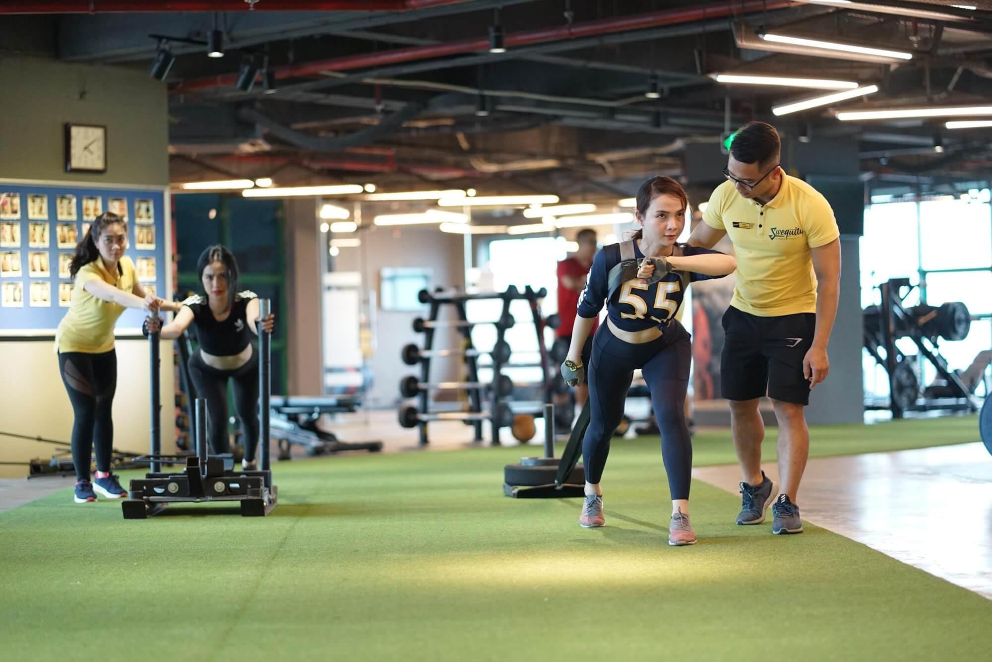 Trải nghiệm phòng tập gym đẳng cấp ở Hà Nội – Swequity Ultimate fitness